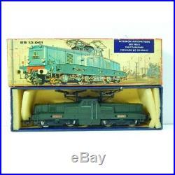 6392 Rare Locomotive Bb 12061 Hornby Captation Par Pantographe En Boite Ho 63