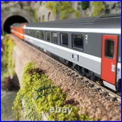 6 voitures CHUR-BRUXELLES 96/97 IRIS Ep V SBB -HO 1/87-LSMODELS MW1706