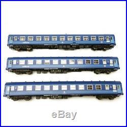 6 voitures Railtour II Camino Azul Ep IV SNCB-HO 1/87-LSMODELS MW1903
