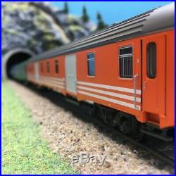 6 voitures Railtour II Freccia del Sol Ep IV SNCB-HO 1/87-LSMODELS MW1905