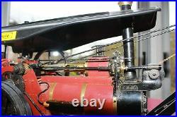 ACCUCRAFT MAXITRAK LOCOMOBILE GRUE à vapeur vive, live steam, Live-Dampf