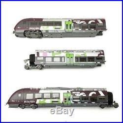 AGC B 81600 Rhône Alpes Sncf ép V/VI 3R-HO 1/87- LSMODELS 10584