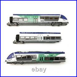 AGC X 56657/8 AUVERGNE SNCF Ep VI HO 1/87 LSMODELS 10073