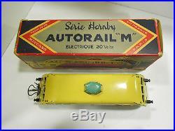 AUTORAIL M ELECTRIQUE // HORNBY ECH O ANCIEN BOITE