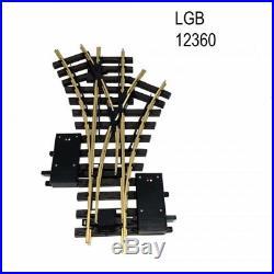 Aiguillage triple R1 1200mm 30 degrés train de jardin -G-1/22.5-LGB 12360