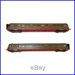 Autorail 2 éléments ALn 990 FS Ep III IV-HO 1/87-OSKAR 2040 DEP73-096