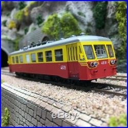 Autorail BROSSEL Rh 554 4618 SNCB Ep IV-HO 1/87-PIKO 52783