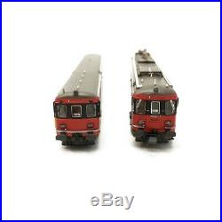 Autorail RBe 540 + voiture SBB/CFF Ep V-N-1/160-PIKO 94160