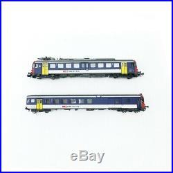 Autorail RBe 540 + voiture SBB/CFF Ep V digital son-N-1/160-PIKO 94162
