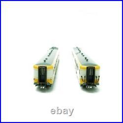 Autorail XBD-2729 RGP 1 ALPAZUR Ep IV-V + Remorque Lyon Vaise-N 1/160-REE NW166