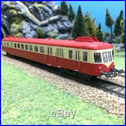 Autorail X 2474 Limoges SNCF Ep IV -HO 1/87-JOUEF HJ2361