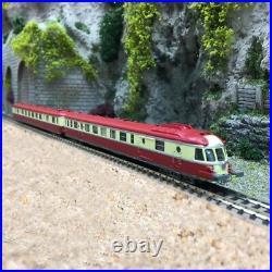Autorail X-2779 RGP 1 SNCF Ep III + Remorque Lyon Vaise-N 1/160-REE NW163