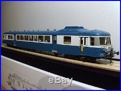 Autorail X 2800 Proto Models modernisé en livrée bleue NEUF échelle O
