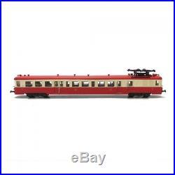 Autorail Z7125 motorisé, digitalisé, détaillé-HO 1/87-ATLAS DEP82-008
