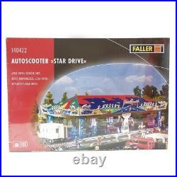 Autos Tamponneuses Star Drive (Motorisé) Fête Foraine-HO-1/87-FALLER 140422