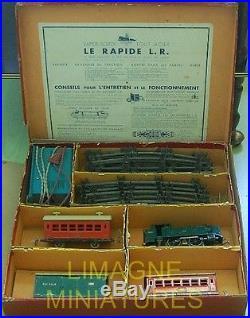 B28-158 Louis Roussy Coffret Le Rapide Lr Plm