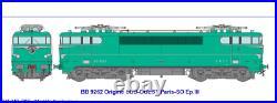 BB 9262 livrée origine verte, Paris S-O, Sncf Ep III HO REE MB080