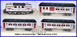 BJ-023 - WILLIAMS - Lionel Standard Gauge - Rame 25ème anniversaire TCA