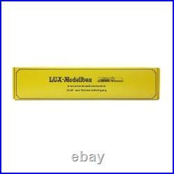 Banc nettoyeur de roues pour locomotive et wagons-N 1/160-LUX MODELLBAU 9310