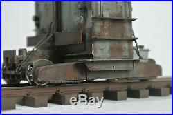 Brawa Spur 0 Brawa 31001-0 Breuer Lokomotor blau II patiniert und zugerüstet