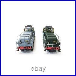 Coffret 2 Locos E1001 E1002 PO-Midi Ep II digital son-HO 1/87-MISTRAL 34-02-G001