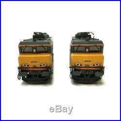 Coffret 2 loco BB22200 Dijon-P digitale son Ep V-VI SNCF-HO 1/87-LSMODELS 10052S