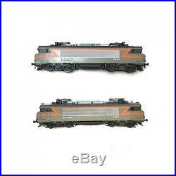 Coffret 2 locomotives BB7200 Chambery Ep IV SNCF-HO 1/87-LSMODELS 10450