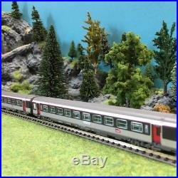 Coffret 2 voitures Corail CL2 Carmillon SNCF-N 1/160-PIKO 94338AB