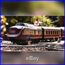 Coffret 3 éléments VT11.5 TEE Ep III DB train de jardin-G 1/22.5-PIKO 37320