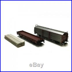 Coffret 3 éléments train service de manoeuvre DB Ep IV digital son 3R-HO-MARKL