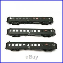 Coffret 3 voitures Bacalan SNCF Ep IV-V-HO 1/87-REE VB238