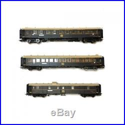 Coffret 3 voitures CIWL Simplon Orient-Express-HO 1/87-RIVAROSSI HR24010 DEP90