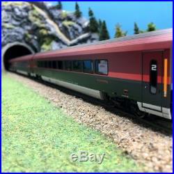 Coffret 3 voitures Railjet ÖBB Ep VI 3R-HO 1/87-ROCO 64193