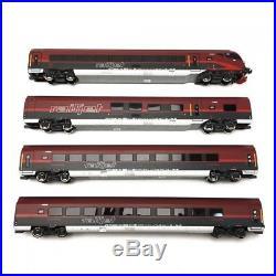 Coffret 4 éléments Railjet ÖBB Ep VI 3R-HO 1/87-ROCO 64190