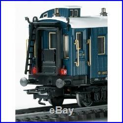 Coffret 5 voitures Simplon-Orient Express Ep II -HO 1/87-TRIX 23219
