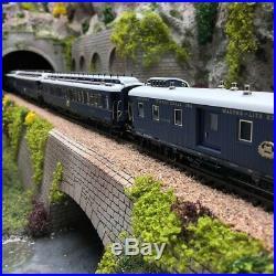 Coffret 5 voitures Simplon-Orient Express ep II digital son 3R -HO 1/87-MARKLIN