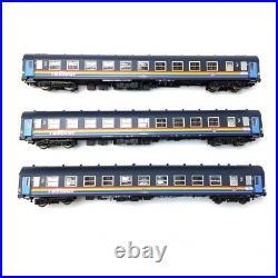 Coffret 6 voitures SNCB Railtour III (1984-92)-HO 1/87-LSMODELS MW2001