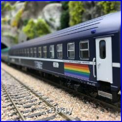 Coffret 6 voitures SNCB Railtour III Freccia del Sol-HO 1/87-LSMODELS MW2003