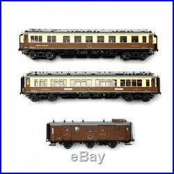 Coffret CIWL Simplon Express 3R-HO 1/87-HOBBYTRAIN 44021