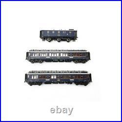 Coffret CIWL Simplon Orient Express Ep II 3R-HO 1/87-HOBBYTRAIN H44024AC
