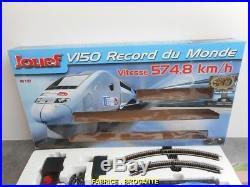 Coffret De Train Jouef V150 Record Du Monde Ho