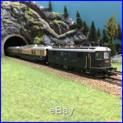 Coffret TEE Rheingold ép III SBB-DB digitale son 3R-HO-1/87-MARKLIN 26604