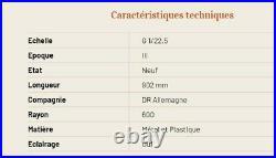 Coffret Train de voyageurs DR Ep III -G 1/22.5
