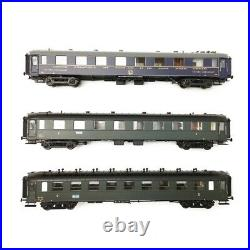 Coffret Transatlantique WR / A8mfyi / B9mfyi Ep III SNCF-HO 1/87-LSMODELS MW4090