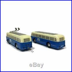 Coffret Trolleybus avec accessoires HO-1/87-BRAWA 6102 A219