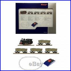 Coffret analogique vapeur + 4 wagons ép II à IV -HOe-1/87-ROCO 31029