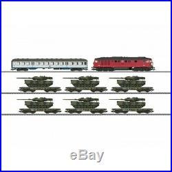 Coffret convoi chargement tanks digitale son 3R-HO-1/87-MARKLIN 26606
