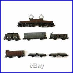 Coffret crocodile et 6 wagons SBB Mfx son-HO-1/87-MARKLIN 26591 DEP39-05