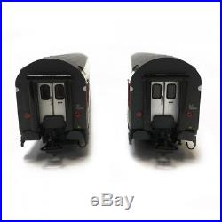 Coffret de 2 voitures UIC CL2 SBB-HO-1/87-LSMODELS 47279