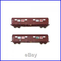 Coffret de 2 wagons SERNAM SNCF ép IV-V-HO-1/87-LSMODELS 30337